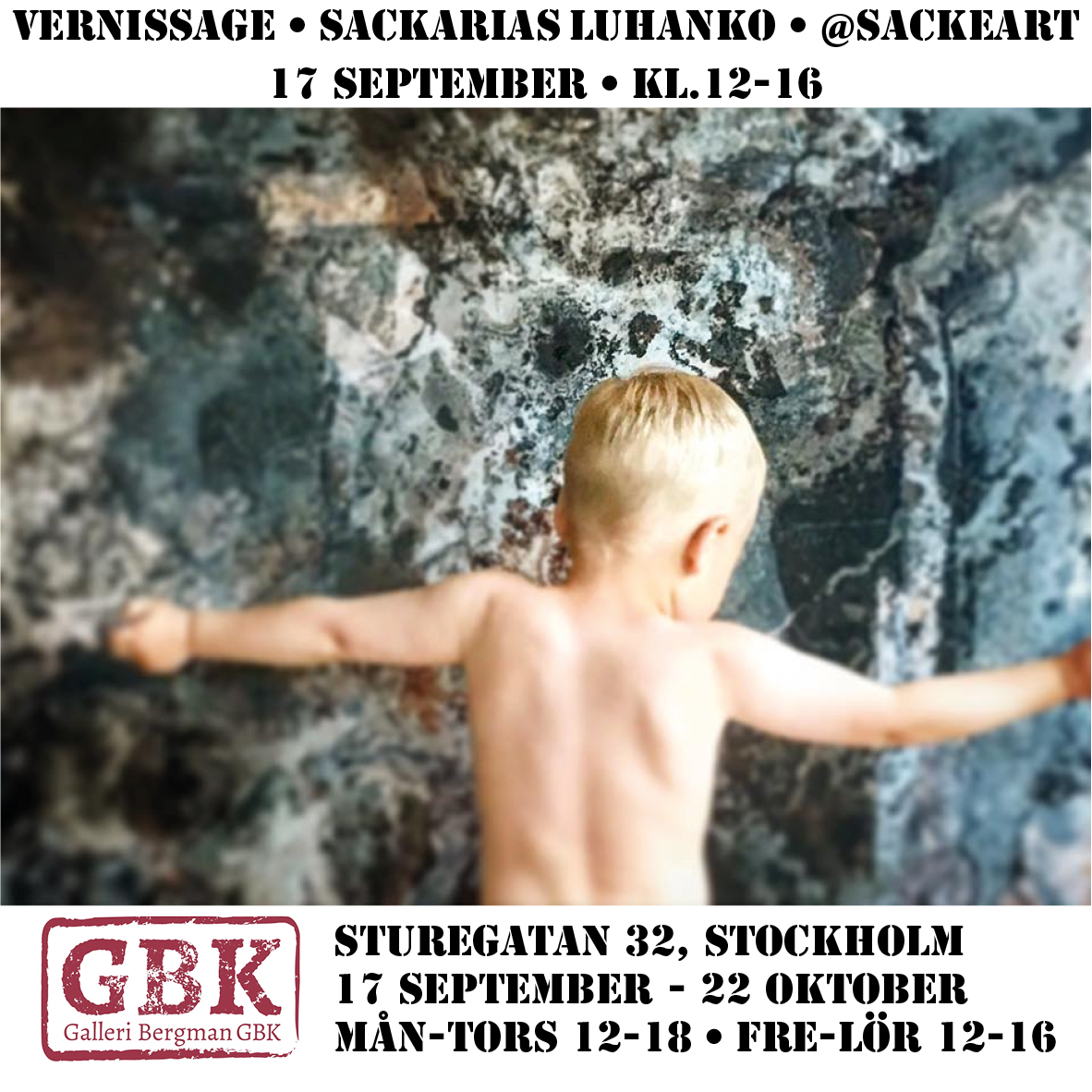Vernissage Next month! Hope to see you there!